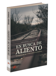 Portada del libro En busca de aliento de Salvador Calderón. Editorial Adarve, Publicar un libro
