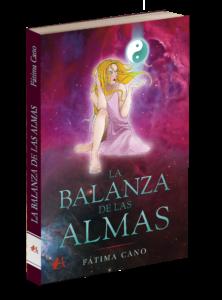 Portada del libro La balanza de las almas de Fátima Cano. Editorial Adarve, Editoriales de España