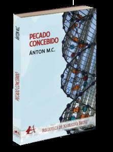 Portada del libro Pecado concebido de Antón MC. Editorial Adarve, Editoriales de España