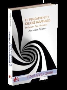 Portada del libro El pensamiento de José Saramago De asunción Muñoz. Editorial Adarve, Editoriales que aceptan manuscritos