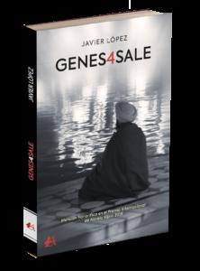 Portada del libro Genes4sale de Javier López. Editorial Adarve, Editoriales de España