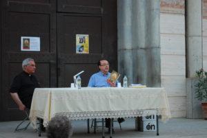 Presentación del libro El ángel cautivo de Carlos Javier García Moreno. Editorial Adarve, Editoriales de España