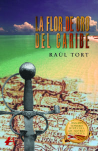 Portada La flor de oro del caribe. Editorial Adarve, Editoriales que aceptan manuscritos