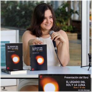 Lidia Moncayo El legado del sol y la luna. Editorial Adarve, Editoriales que aceptan manuscritos