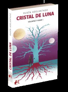 Portada del libro Cristal de luna de Rubén Adelantado Turlo. Editorial Adarve, Editoriales de España