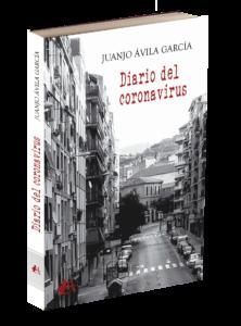 Portada del libro Diario del coronavirus de Juanjo Ávila García. Editorial Adarve, Editoriales que aceptan manuscritos