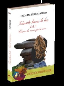 Portada del libro Tránsito hacia la luz de Encarni Pérez Salicio. Editorial Adarve, Publicar un libro