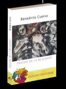 Portada del libro Trazos de la realidad de Benedicto Cuervo. Editorial Adarve, Editoriales de España