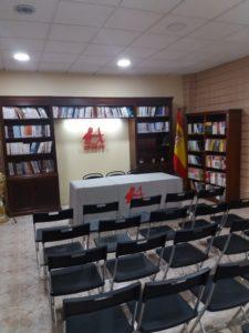 Sala de presentaciones Capitán Letras