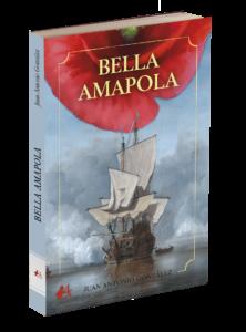 Portada del libro Bella amapola de Juan Antonio González Cejas. Editorial Adarve, Editoriales que aceptan manuscritos