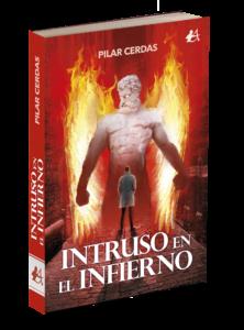 Portada del libro Intruso en el infierno de Pilar Cerdas. Editorial Adarve, Editoriales de España
