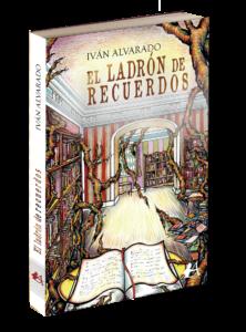 Portada del libro El ladrón de recuerdos. Editorial Adarve, Editoriales de ESpaña
