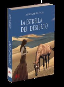 Portada del libro La estrella del desierto de Miriam Baños. Editorial Adarve, Editoriales de España