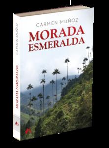 Portada del libro Morada Esmeralda de Carmen Muñoz. Editorial Adarve, Editoriales de España
