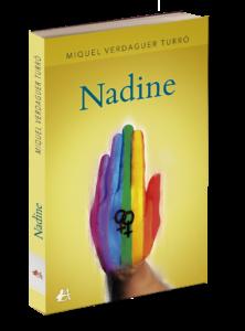 Portada del libro Nadine de Miquel Verdaguer Turró. Editorial Adarve, Editoriales de España