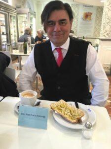 Xoel Prado Antúnez autor de El sofá de Claire. Editorial Adarve. Publicar un libro