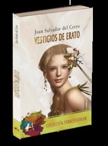Portada del libro Vestigios de Erato de Juan Salvador del Cerro. Editorial Adarve. Colección Verso y color. Publicar un libro