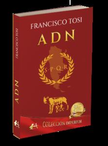 Portada del libro ADN de Francisco Tosi. Editorial Adarve. Publicar un libro