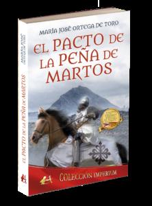 Portada del libro El pacto de la peña de Martos de María José Ortega de Toro. Editorial Adarve, publicar un libro