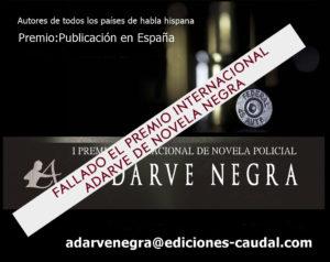 Fallo Premio Editorial Adarve Novela Negra