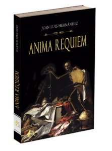 Portada del libro Anima Requiem de Juan Luis Hernández. Editorial Adarve. Publicar un libro