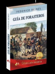 Portada de Guía de forasteros de Federico Beines. Editorial Adarve. Publicar un libro