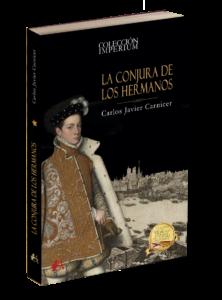 Portada de La cojura de los necios de Carlos Javier Carnicer. Colección Imperium. Editorial Adarve, publicar un libro