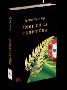 Portada del libro Amor en la frontera. Editorial Adarve, editoriales tradicionales