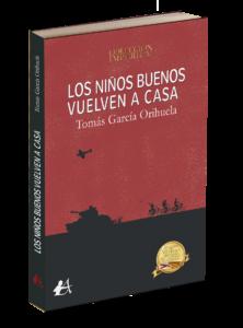 Portada del libro Los niños buenos vuelven a casa. Editorial Adarve, editoriales de España