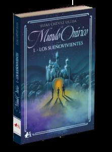 Portada del libro Mundo uníricco Los sueñovivientes, Editorial Adarve. Editoriales españolas