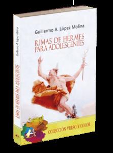 Rimas de Hermes para adolescentes. Editorial Adarve, colección Verso y color, editoriales de ensayo