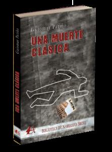 Portada del libro Una muerte clásica. Editorial Adarve. Colección Bliblioteca de Narrativa Breve. Publicar un libro