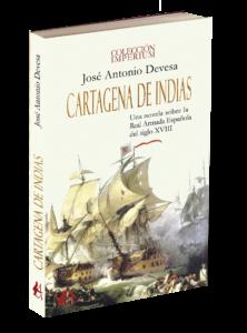 Portada del libro Cartagena de Indias. Editorial Adarve, colección Imperium. Editoriales de España