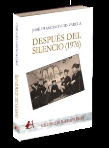 Portada del libro Después del silencio. Editorial Adarve. Editoriales que aceptan manuscritos