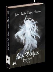 Portada del libro Las brujas. Luna negra. Editorial Adarve, publicar un libro