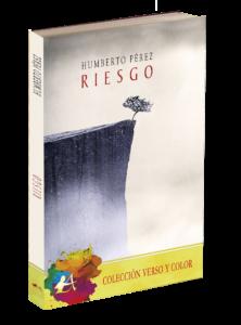 Portada del libro Riesgo. Editorial Adarve, colección Verso y color. Editoriales de España