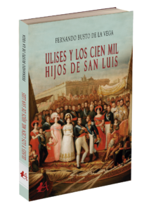 Portada del libro Ulises y los cien mil hijos de San Luis. Editorial Adarve, publicar un libro